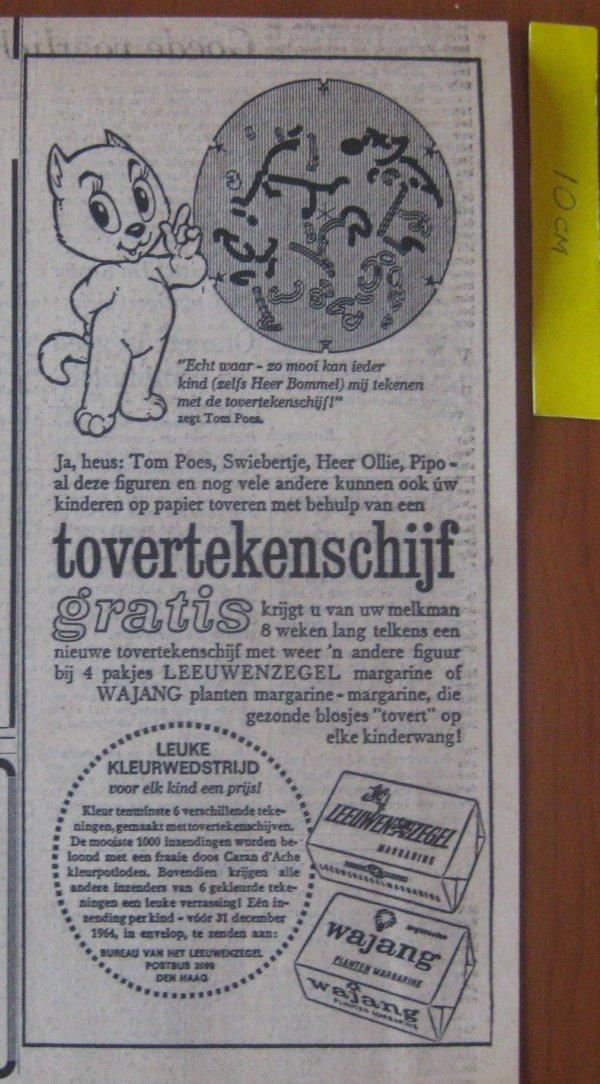 150ffdf49d9 Originele krantenadvertentie